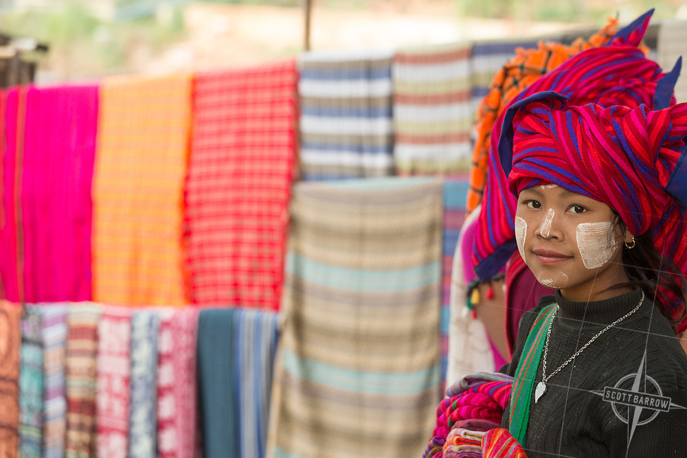 Scenes from the Mandalay market.