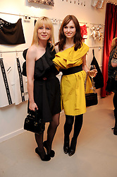 Left to right, ROISIN MURPHY and SOPHIE ELLIS-BEXTOR at the H&M Home Launch held at 174-176 Oxford Street, London W1 on 2nd November 2010.