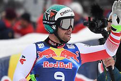 25.01.2020, Streif, Kitzbühel, AUT, FIS Weltcup Ski Alpin, Abfahrt, Herren, im Bild Vincent Kriechmayr (AUT, 2. Platz) // second placed Vincent Kriechmayr of Austria reacts after his run in the men's downhill of FIS Ski Alpine World Cup at the Streif in Kitzbühel, Austria on 2020/01/25. EXPA Pictures © 2020, PhotoCredit: EXPA/ Erich Spiess