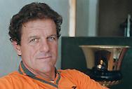 Roma 9 Febbraio 2000..Fabio Capello, allenatore della  AS Roma.AS Roma's coach Fabio Capello.