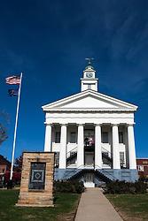 Orange County Courthouse, Paoli, Indiana, United States of America