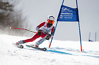 Piche Invitational giant slalom U14 boys  2nd run.    ©2019 Karen Bobotas Photographer