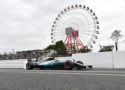October 6, 2017 - Suzuka, Japan - Lewis Hamilton; Mercedes Grand Prix, formula 1 GP, Japan in Suzuka, 06.10.2017.Photo:mspb/Jerry Andre (Credit Image: © face to face via ZUMA Press)