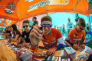 #313 (KIMMANN Niek) NED signing autographs at Round 4 of the 2018 UCI BMX Superscross World Cup in Papendal, The Netherlands