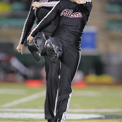 14 November 2008:  Starlettes dance team performs during the St. Thomas Falcons 47-28 playoff victory over the Welch Greyhounds at Strawberry Stadium in Hammond, LA.