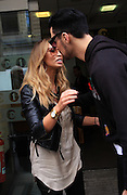 08.NOVEMBER.2012. LONDON<br /> <br /> LAUREN POPE AND RYLAN CLARK OUTSIDE THE BBC RADIO ONE XTRA STUDIOS, LONDON<br /> <br /> BYLINE: EDBIMAGEARCHIVE.CO.UK<br /> <br /> *THIS IMAGE IS STRICTLY FOR UK NEWSPAPERS AND MAGAZINES ONLY*<br /> *FOR WORLD WIDE SALES AND WEB USE PLEASE CONTACT EDBIMAGEARCHIVE - 0208 954 5968*
