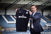 Dundee manager Neil McCann 02-06-2017