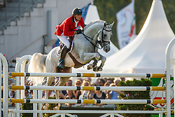 Philippaerts Olivier (BEL) - Cabrio vd Heffinck <br /> Mercedes-benz Nationenpreis<br /> Weltfest des Pferdesports CHIO Aachen 2014<br /> © Hippo Foto - Dirk Caremans
