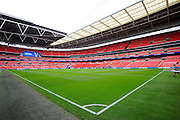 Wembley Stadium before the Sky Bet League 2 play off final match between AFC Wimbledon and Plymouth Argyle at Wembley Stadium, London, England on 30 May 2016. Photo by Graham Hunt.