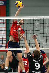 20181124 NED: Volleyball Top League ZVH - VCV: Zevenhuizen<br />Jan Jaap van Schuylenburg (7) of CAS CRM ZVH<br />©2018-FotoHoogendoorn.nl / Pim Waslander