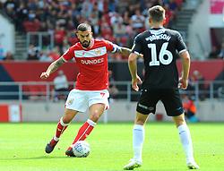 Marlon Pack of Bristol City in action - Mandatory by-line: Nizaam Jones/JMP- 18/08/2018 - FOOTBALL - Ashton Gate Stadium - Bristol, England - Bristol City v Middlesbrough - Sky Bet Championship