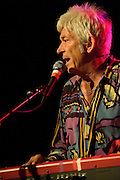 Ian McLagan and the Bump Band performs at a benefit for Austin Child Guidance Center at La Zona Rosa, Austin Texas, July 2, 2009.  Austin Child Guidance Center provides mental health services for children and their families as well as community education. Ian 'Mac' McLagan can comfortably claim rock icon status, having written many Faces hits as well as touring and recording with the Rolling Stones
