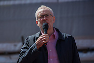 1 May 2016 - Jeremy Corbyn addresses annual May Day rally in London.