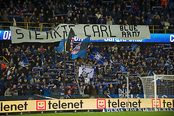 20.10.2011, Jan-Breydel Stadion, Bruegge, BEL, UEFA EL, Gruppe H, FC Bruegge (BEL) vs Birmingham City (ENG), im Bild Club Brugge fans during the UEFA Europa League Group H match at the Jan Breydelstadion // during UEFA Europa League group H match between FC Bruegge (BEL) vs Birmingham City (ENG), at Jan-Breydel Stadium, Brugge, Belgium on 20/10/2011. EXPA Pictures © 2011, PhotoCredit: EXPA/ Propaganda Photo/ David Rawcliff +++++ ATTENTION - OUT OF ENGLAND/GBR+++++