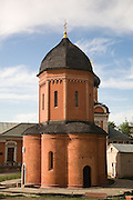 The cathedral of Saint Peter in Vysokopetrovsky Monastery was one of the first rotundas in Russian architecture. Built in 1517. Moscow, Russia, 2007