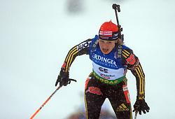 Magdalena Neuner (GER) at Women 15 km Individual at E.ON Ruhrgas IBU World Cup Biathlon in Hochfilzen (replacement Pokljuka), on December 18, 2008, in Hochfilzen, Austria. (Photo by Vid Ponikvar / Sportida)