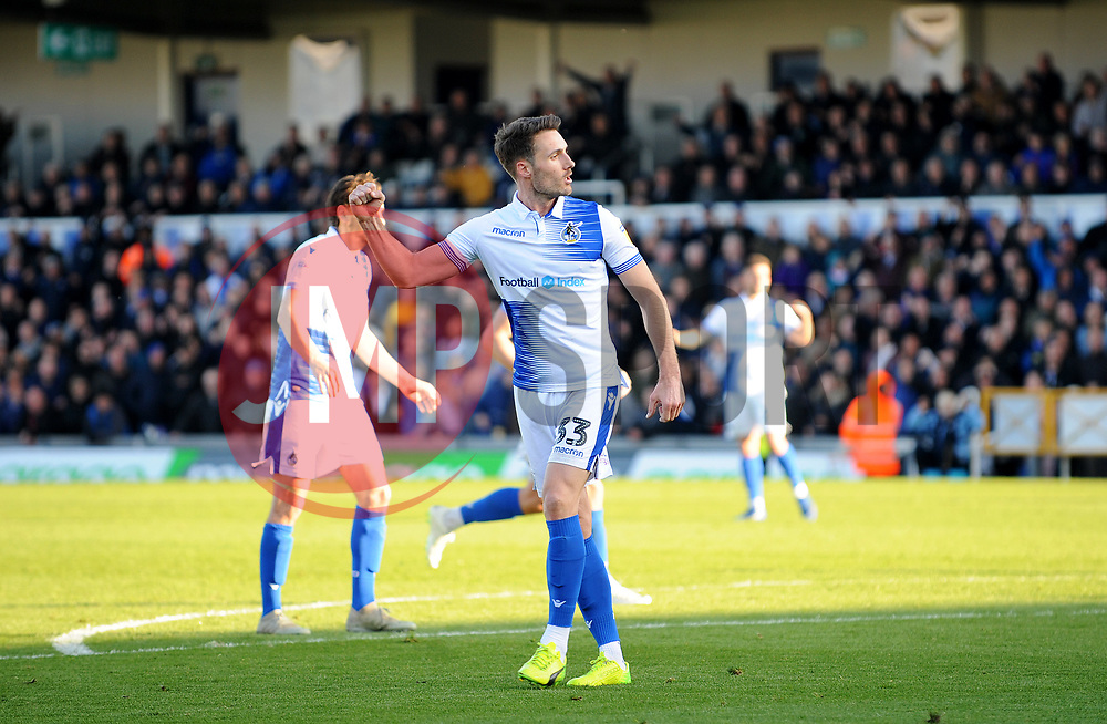 Alex Rodman of Bristol Rovers scores agoal making it 1-1 - Mandatory by-line: Nizaam Jones/JMP - 04/05/2019 - FOOTBALL - Memorial Stadium - Bristol, England - Bristol Rovers v Barnsley - Sky Bet League One