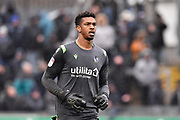 Jamal Blackman (21) of Bristol Rovers during the EFL Sky Bet League 1 match between Bristol Rovers and Blackpool at the Memorial Stadium, Bristol, England on 15 February 2020.