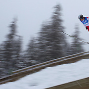 Winter Olympics, Vancouver, 2010.Mackenzie Boyd-Clowes, Canada, in action during the Nordic Combined Ski Jumping at The Whistler Olympic Park, Whistler, during the Vancouver  Winter Olympics. 11th February 2010. Photo Tim Clayton