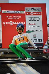 21.11.2014, Vogtland Arena, Klingenthal, GER, FIS Weltcup Ski Sprung, Klingenthal, Herren, HS 140, Qualifikation, im Bild Anssi Koivuranta (FIN) // during the mens HS 140 qualification of FIS Ski jumping World Cup at the Vogtland Arena in Klingenthal, Germany on 2014/11/21. EXPA Pictures © 2014, PhotoCredit: EXPA/ Eibner-Pressefoto/ Harzer<br /> <br /> *****ATTENTION - OUT of GER*****