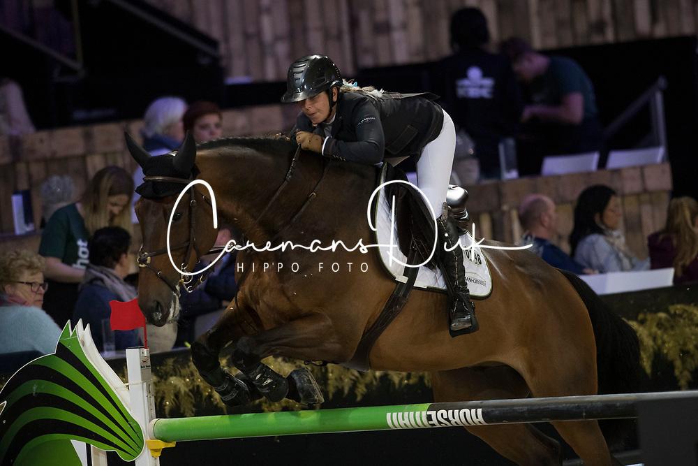 Goldstein Danielle, ISR, Corneel<br /> Jumping Mechelen 2017<br /> © Sharon Vandeput<br /> 29/12/17