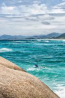 Praia da Joaquina. Florianópolis, Santa Catarina, Brasil. / Joaquina Beach. Florianopolis, Santa Catarina, Brazil.