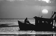 Man on Shrimp Boat