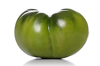 Green tomato - studio shot