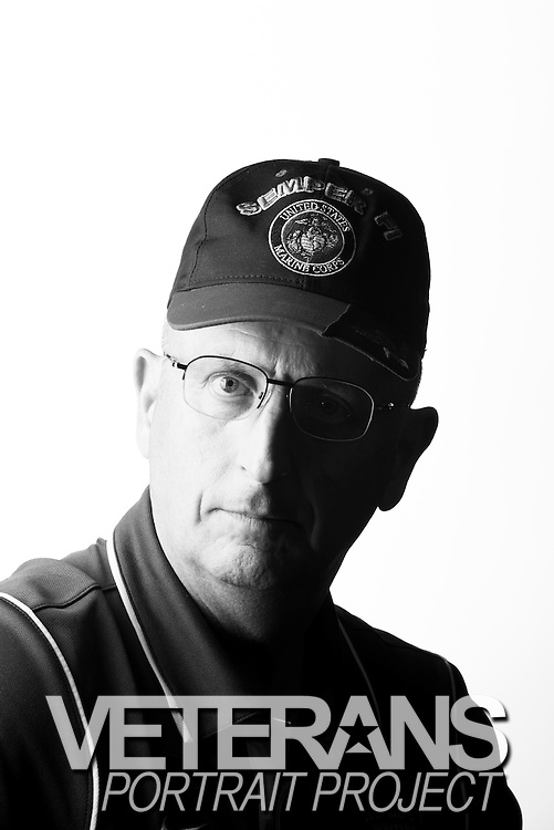 Timothy Sowa<br /> Marine Corps, Army<br /> E-7<br /> Logistics Chief<br /> Feb. 10, 1971 - Oct. 31, 2011<br /> Vietnam<br /> OEF<br /> <br /> Veterans Portrait Project<br /> St. Louis, MO
