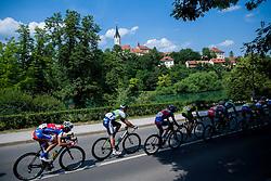Simon Pavlin (SLO) of Adria Mobil in Novo mesto during Stage 4 from Brezice to Novo mesto (155,8 km) of cycling race 20th Tour de Slovenie 2013,  on June 16, 2013 in Slovenia. (Photo By Vid Ponikvar / Sportida)