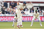 Alastair Cook of England on Day One of the NatWest Test Match match at Lord's, London<br /> Picture by Simon Dael/Focus Images Ltd 07866 555979<br /> 24/05/2018