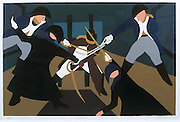 15656Jacob Lawrence exhibition scans of work