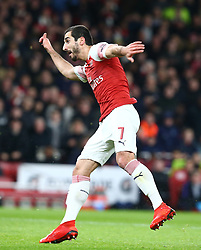 December 19, 2018 - London, England, United Kingdom - London, UK, 19 December, 2018.Henrikh Mkhitaryan of Arsenal.during Carabao Cup Quarter - Final between Arsenal and Tottenham Hotspur  at Emirates stadium , London, England on 19 Dec 2018. (Credit Image: © Action Foto Sport/NurPhoto via ZUMA Press)