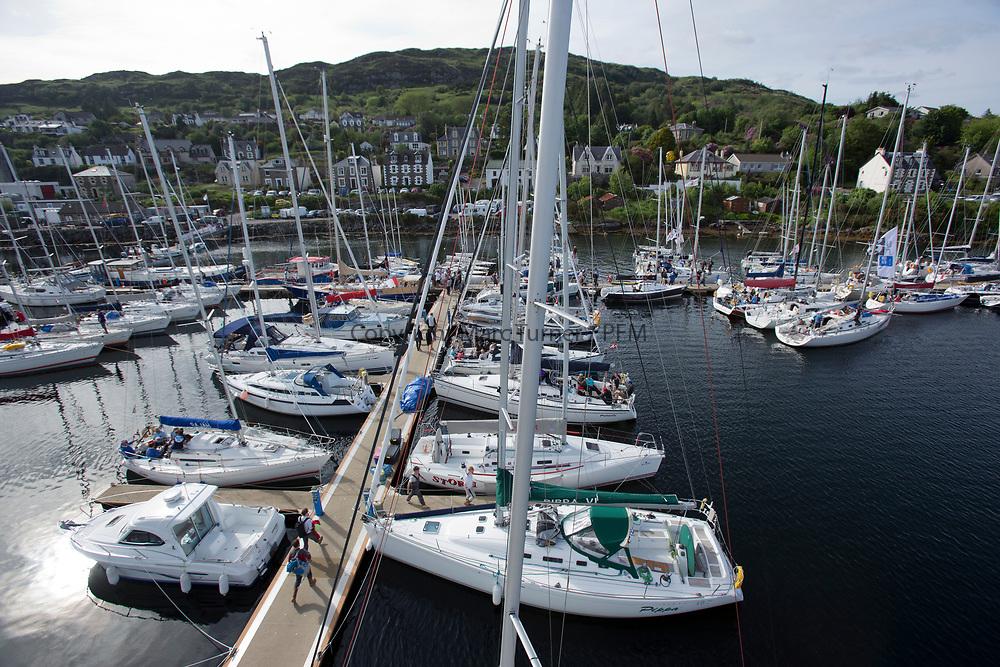 Silvers Marine Scottish Series 2017<br /> Tarbert Loch Fyne - Sailing<br /> <br /> Tarbert Harbour<br /> <br /> Credit: Marc Turner / CCC