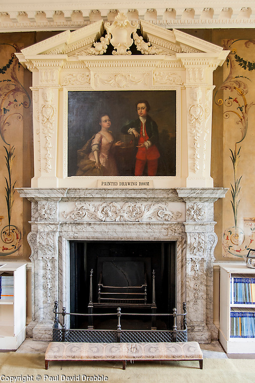 Wentworth Woodhouse Painted Drawing Room<br /> <br /> 26 June 2013<br /> Image &copy; Paul David Drabble<br /> www.pauldaviddrabble.co.uk