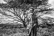 NOUVELLE CALEDONIE,  Bopope - Chef de la tribu de Bopope - POARACAGU Raymond Kiel- 2014-03