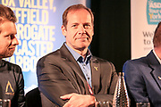 Christian Prudhomme, Director Tour de France during the Tour de Yorkshire PressConference at the National Railway Museum, York, United Kingdom on 27 April 2017. Photo by Mark P Doherty.