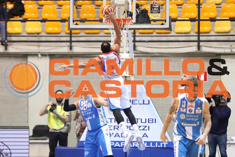 Chappell Jeremy Lamar, Red October Cantù vs Banco di Sardegna Sassari - 16 giornata Campionato LBA 2017/2018, PalaDesio Desio 20 gennaio 2018 - foto BERTANI/Ciamillo