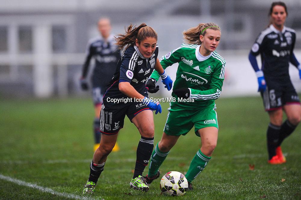 Lucie PINGEON  - 03.12.2014 - Saint Etienne / Lyon - 11eme journee de Division 1<br /> Photo : Thomas Pictures / Icon Sport