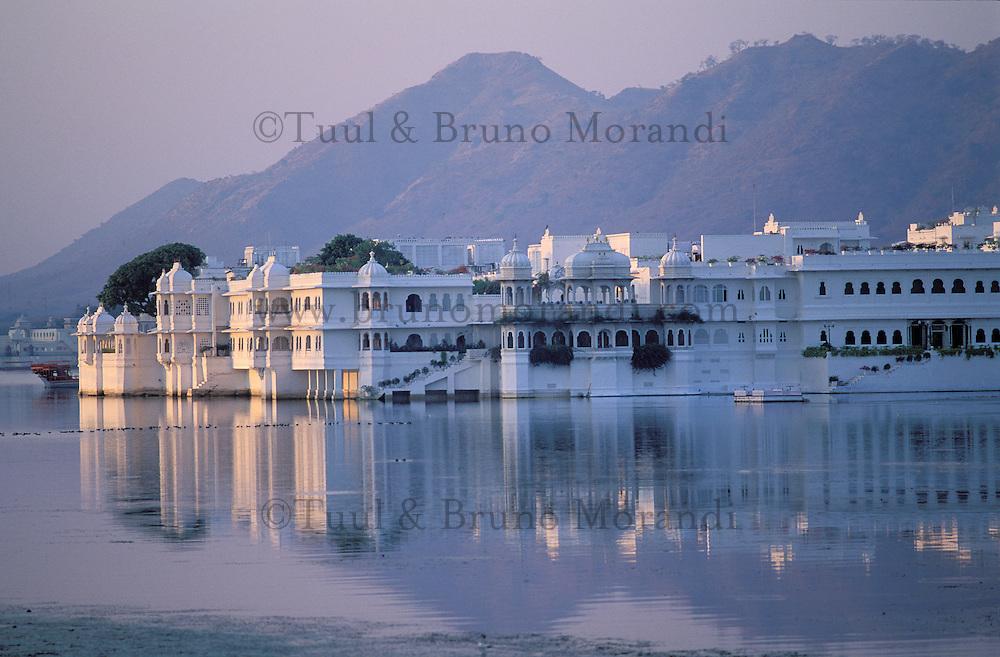 Inde - Rajasthan - Udaipur - Jag Niwas - Hotel Lake Palace - Lac Pichola