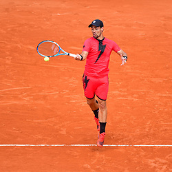 Fabio Fognini of Italy during Day 7 of the French Open 2018 on June 2, 2018 in Paris, France. (Photo by Dave Winter/Icon Sport)