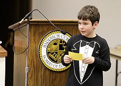 January 17, 2012: Harrison County School Board Meeting at the Kelley Miller Building in Clarksburg, WV.  Mandatory Credit: Ben Queen