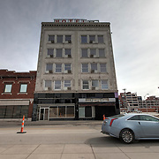 Hotel Midwest near 20th and Main, Kansas City, Missouri. Possible candidate for demolition.
