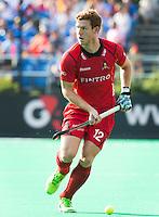 ANTWERP -   Gauthier Boccard of Belgium during the final Australia vs Belgium (1-0). WSP COPYRIGHT KOEN SUYK