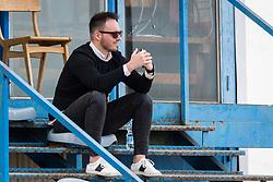 Ziga Ikic, Public relations manager of NK Triglav Kranj during football match between NK Triglav Kranj and NK Krskoi in Round #29 of Prva Liga Telekom Slovenije 2017/18, on May 2, 2018 in Sports park Kranj, Kranj, Slovenia. Photo by Ziga Zupan / Sportida