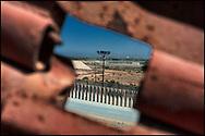 Muro fronterizo en Tijuana. (FOTO: Prometeo Lucero)