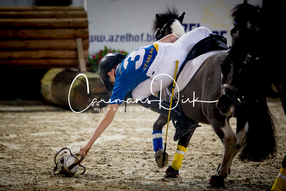 Horseball Demo<br /> Mechelen 2018<br /> © Hippo Foto - Sharon Vandeput<br /> 26/12/18