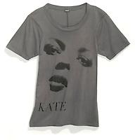 kate spade screenprinted tee shirt