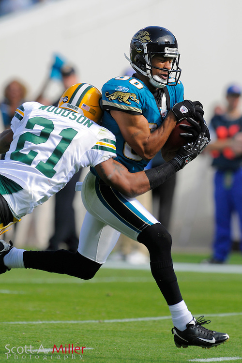 Jacksonville, FL. -- Jacksonville Jaguars wide receiver Dennis Northcutt (86) during the Jags game against the Green Bay Packers on Dec. 14, 2008 at Jacksonville Municipal Stadium....©2008 Scott A. Miller