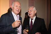 MICHAEL COCKERELL; NORMAN LAMONT, Launch of book by Basia Briggs, Mother Anguish. The Ritz hotel, Piccadilly. 4 December 2017